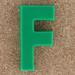 Magnetic letter F