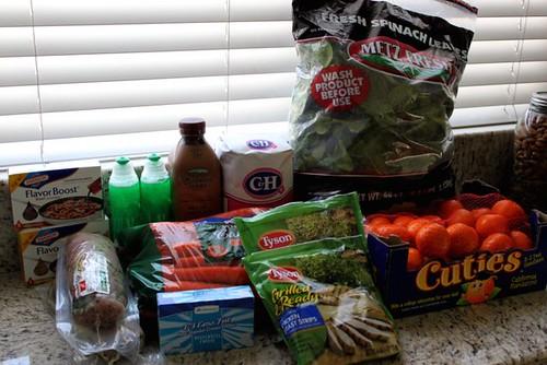 Groceries 2/11/2012