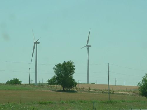 Windmills in Oklahoma