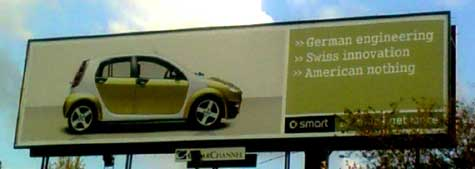 Smart Billboard in Johannesburg, South Africa