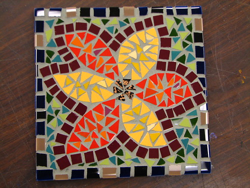 Grouted trivet
