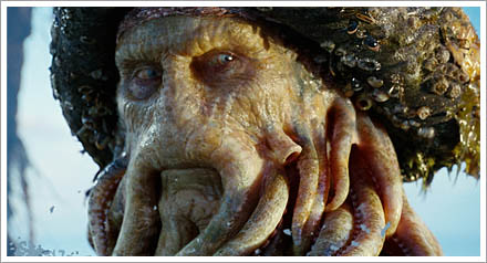 davy jones pirates of carribean