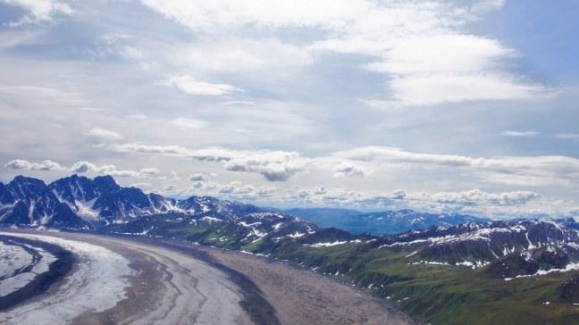 Glacier in Denali National Park