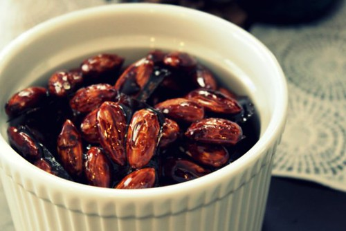 Balsamic Almonds