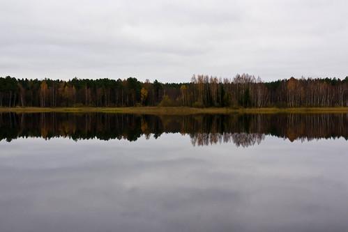Arvydų tvenkiniai rudenį