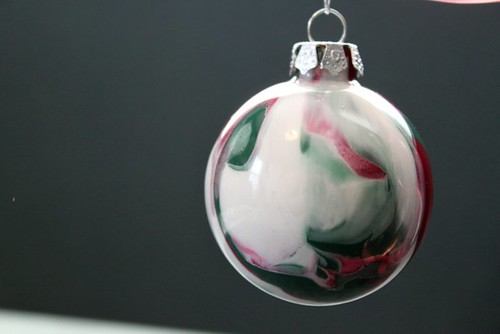 Marbling Ornament