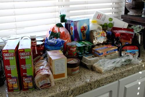 Groceries 2/29/2012
