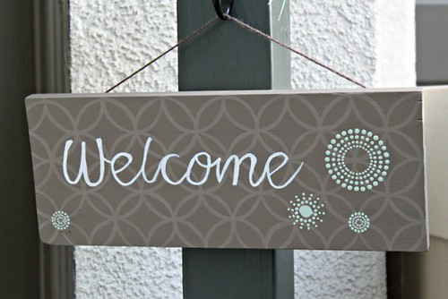 DIY Welcome Sign_2
