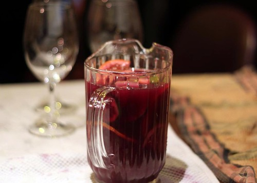 Sangria at the Pintxos Pickle