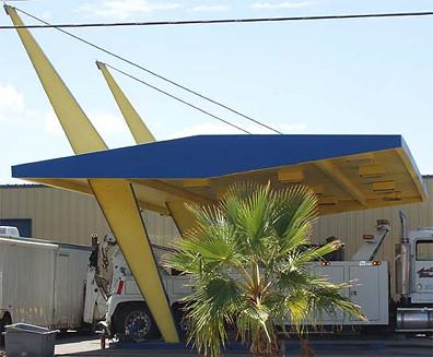 Canopy in Needles, Calif.