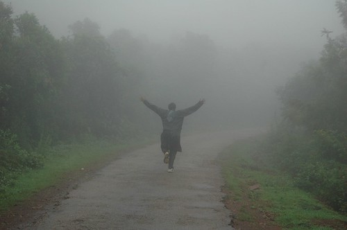 Hug the rain