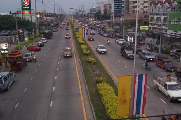 traffic in Lopburi