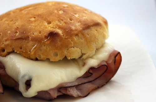 Ham & Swiss Biscuit