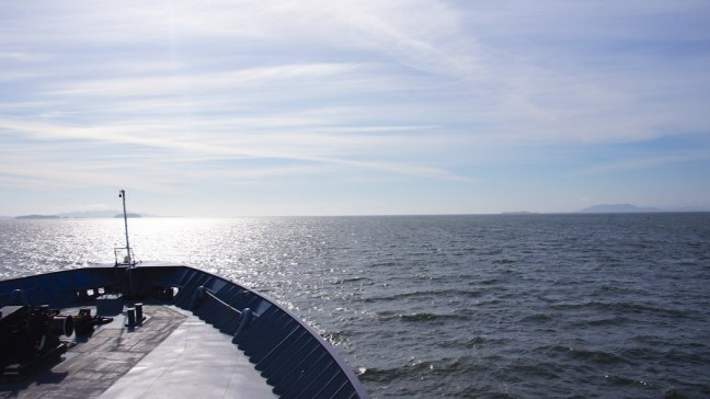 Typical view of open sea