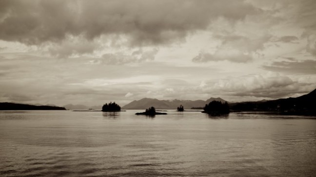 Inside Passage near Ketchikan