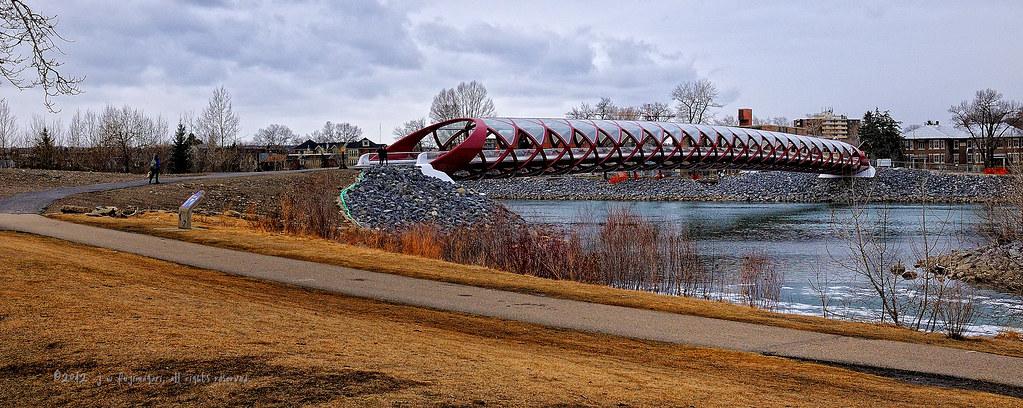 Peace Bridge Pano