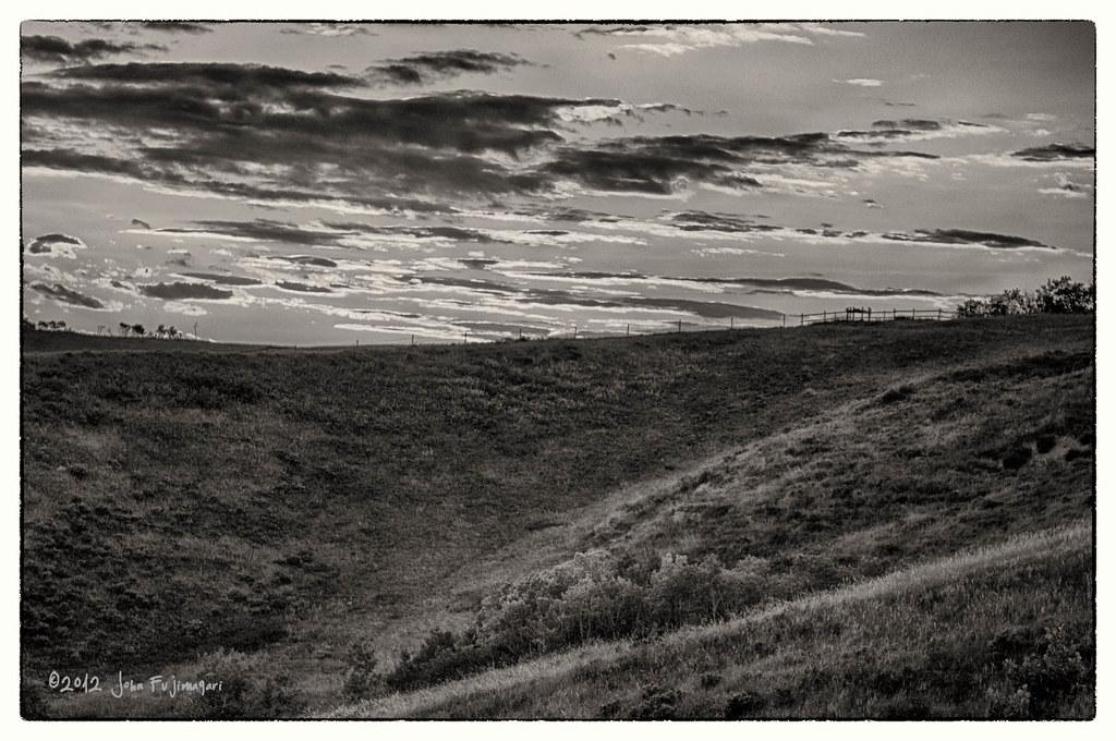 Hills & Clouds