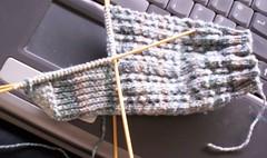 SLLS 2nd sock progress 29-05-06