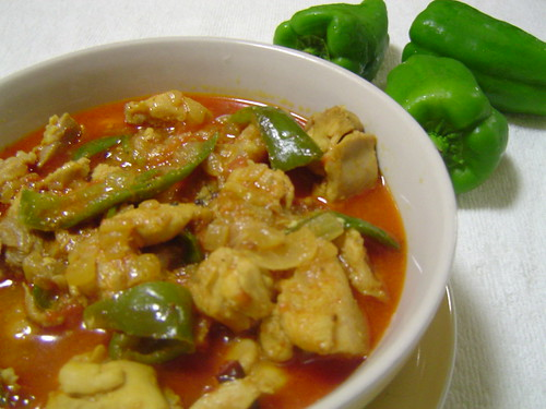 Chicken Capsicum