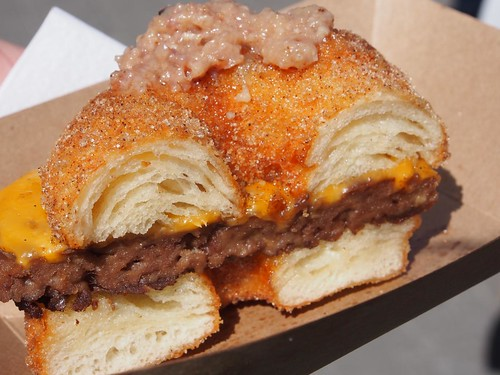 This Year's CNE Food - The Cronut Burger