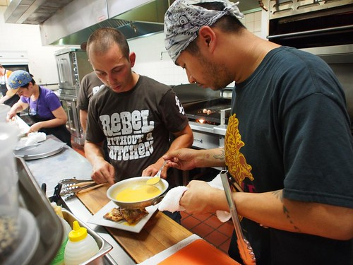 Saucing The Bulgogi Ravioli