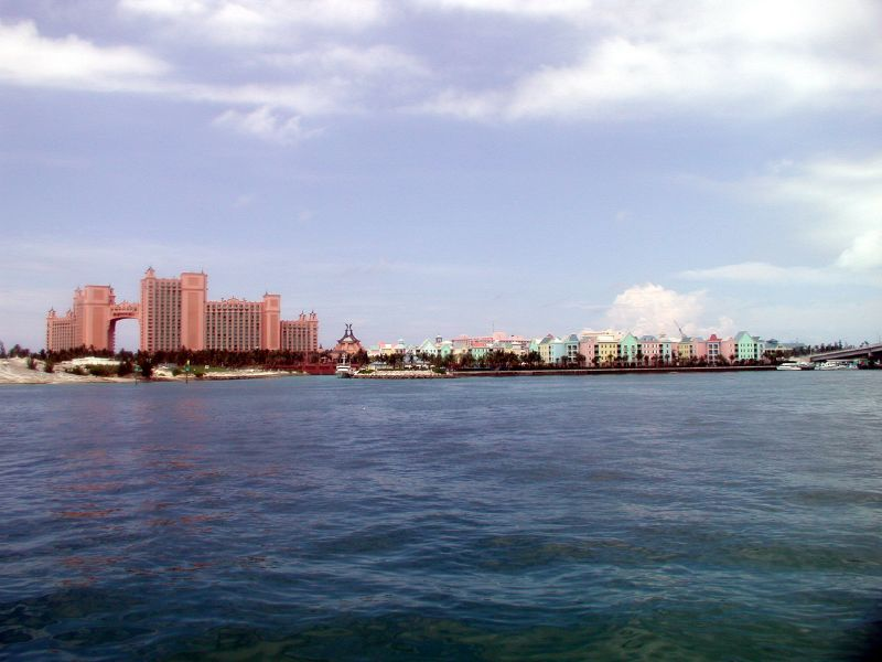 Entering Nassau Harbor