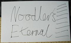 Noodler's Ink Stress Test - Before
