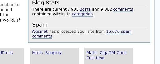 Mucho spam en slayerx.org