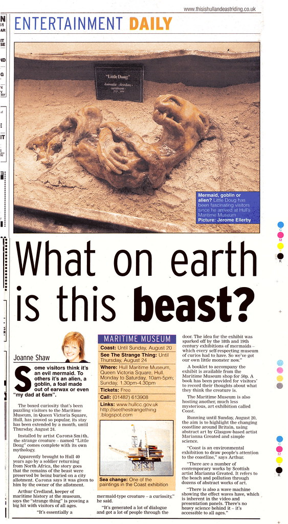 Hull Daily Mail 31st July 2006