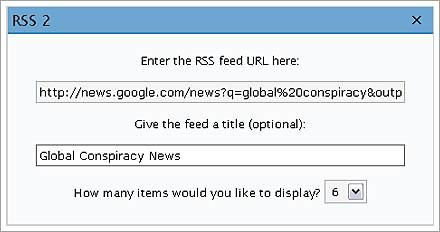 create custom news feed in wordpress