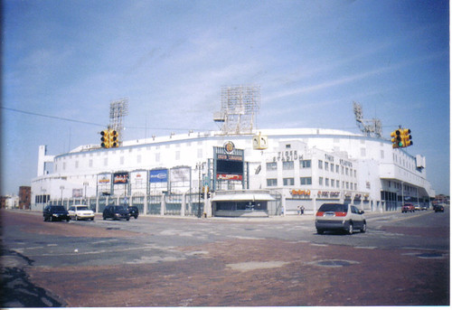 Tiger Stadium, Detroit Michigan