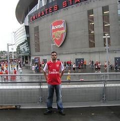 Teg @ Emirates Stadium