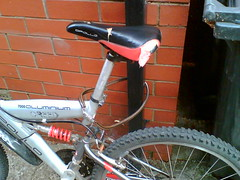How not to lock your bike