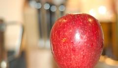A crunchy apple