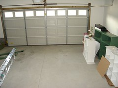 cleared garage
