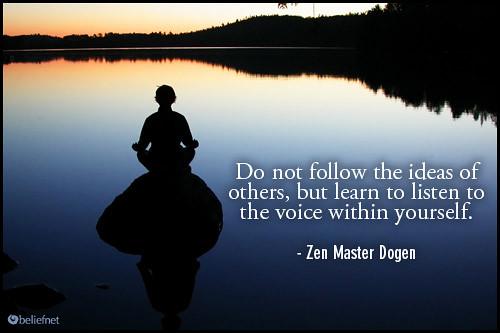 A Famous Zen Quote | A Buddhist Journal