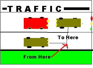 goofy traffic
