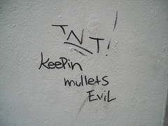 detail - keepin mullets evil
