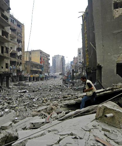 Washington Post - Beirut Suburbs in Ruin I