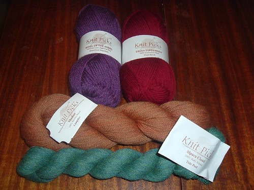 KnitPicks yarns