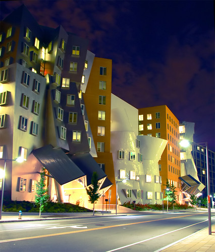 Frank Gehry Stata Center, MIT, Building on the move