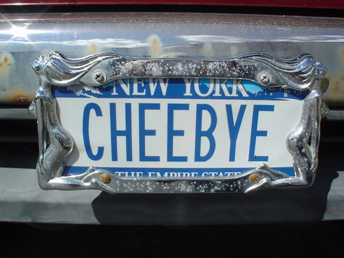 Special car plate on my Rodeo