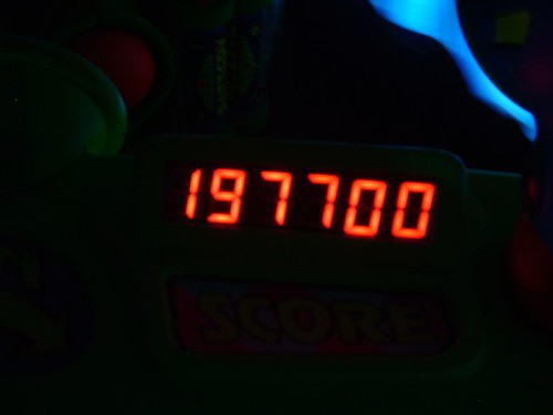 My Score on Buzz Lightyear