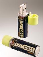 Pila recargable USB