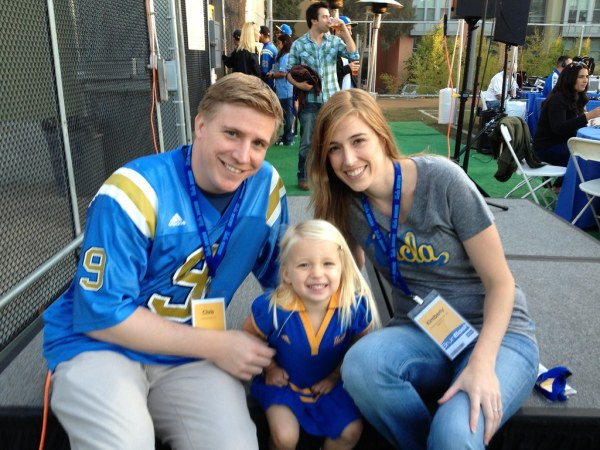 UCLA Football vs. Cal 2012 - Family Photo