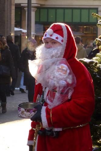 Weihnachtsmann in Lübeck