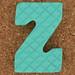 Foam Letter Z