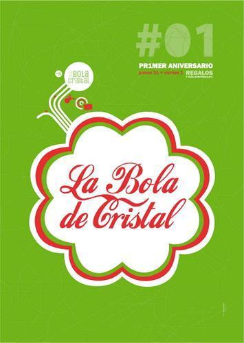 Primer aniversario de La Bola de Cristal