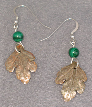 Fine Silver Leaves