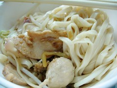 蒜�麵- garlic noodles